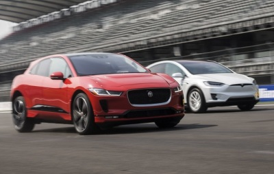 The new electric Jaguar I-PACE  (Jaguar Photo)
