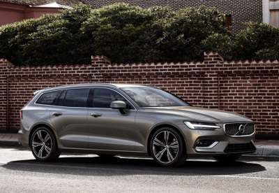The new Volvo V60.  (Volvo Photo)