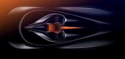 A rendering of McLaren's next big thing.  (McLaren Photo)