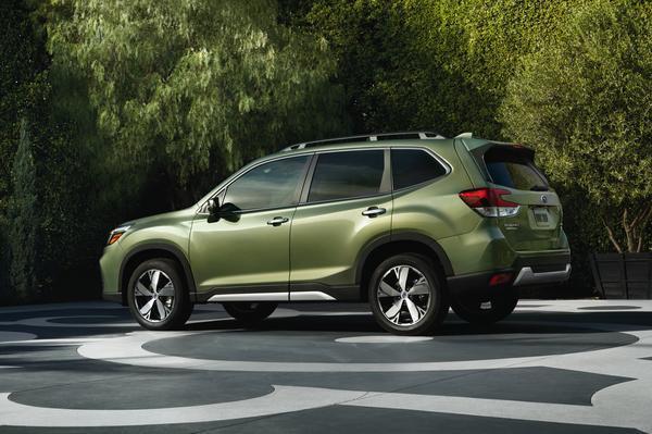 The 2019 Subaru Forester  (Subaru of America Photo)