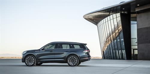 The 2019 Lincoln Aviator.  (Ford Motor Company Photo)
