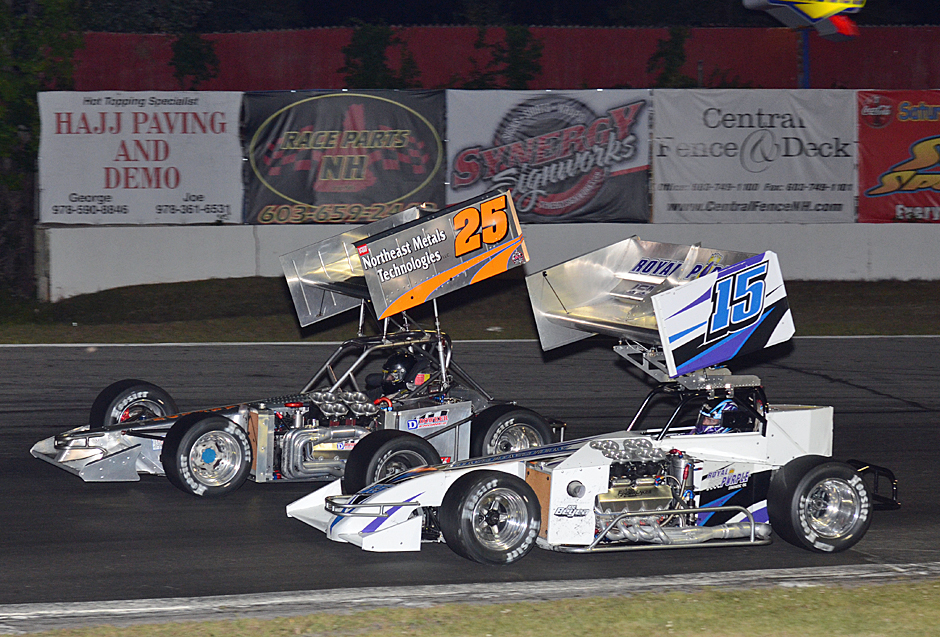 ISMA Supermodifieds in action last season at Star Speedway.  (ISMA Photo)