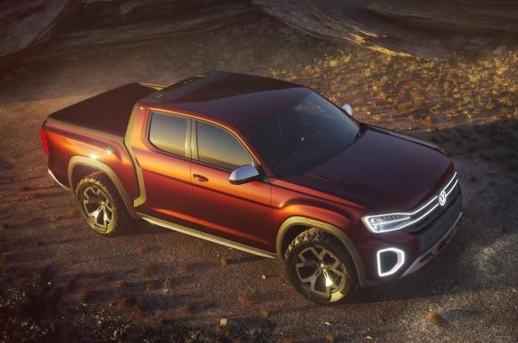 The Volkswagen Tanoak concept.  (VW USA Photo)