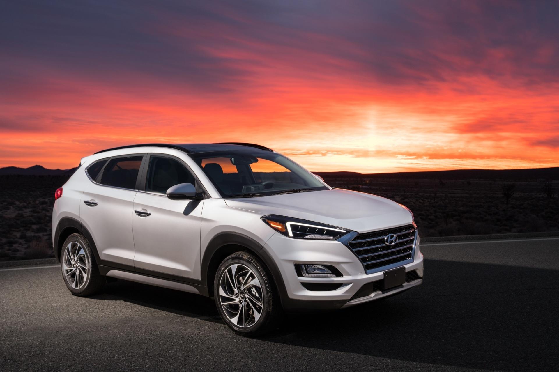 The 2019 Hyundai Tucson  (Hyundai Photo)