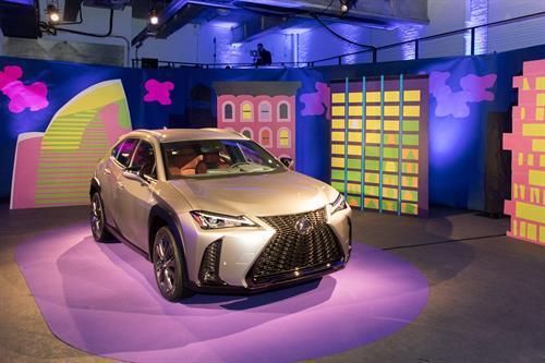 The new Lexus UX  (Lexus Photo)
