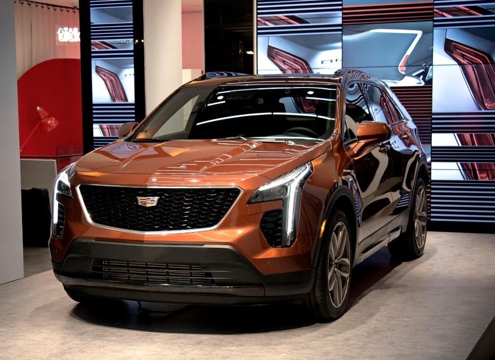 The new Cadillac XT4  (GM Photo)