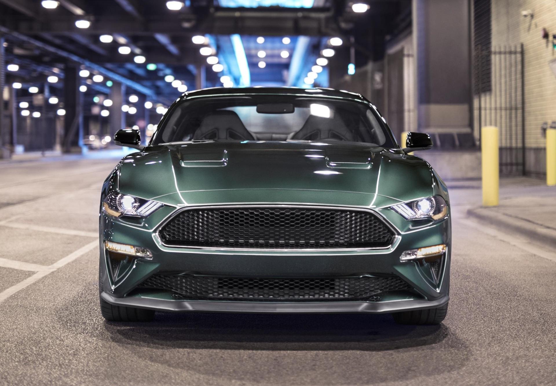 The new Ford Mustang Bullitt.  (FoMoCo Photo)