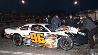 Maine's Wyatt Alexander had bad luck at Hickory.  (PASS / LWPictures.com Photo)