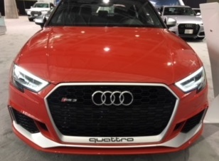 The Audi RS3  (Mike Twist Photo)