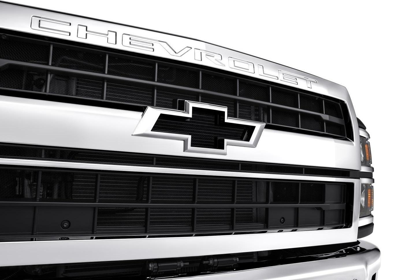 "The ""flowtie"" of the 2019 Silverado Medium Duty Trucks.  (GM Photo)"