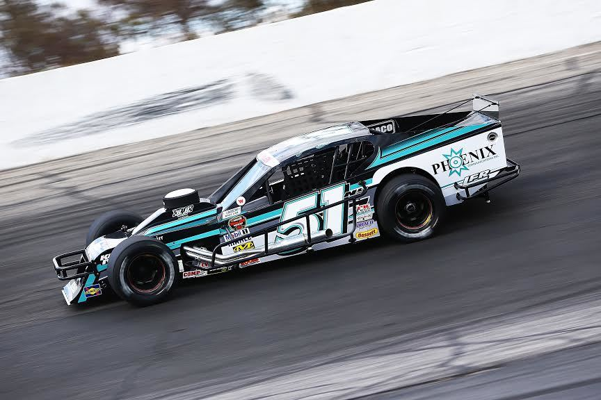 Justin Bonsignore's #51 Modified.  (NASCAR Photo)