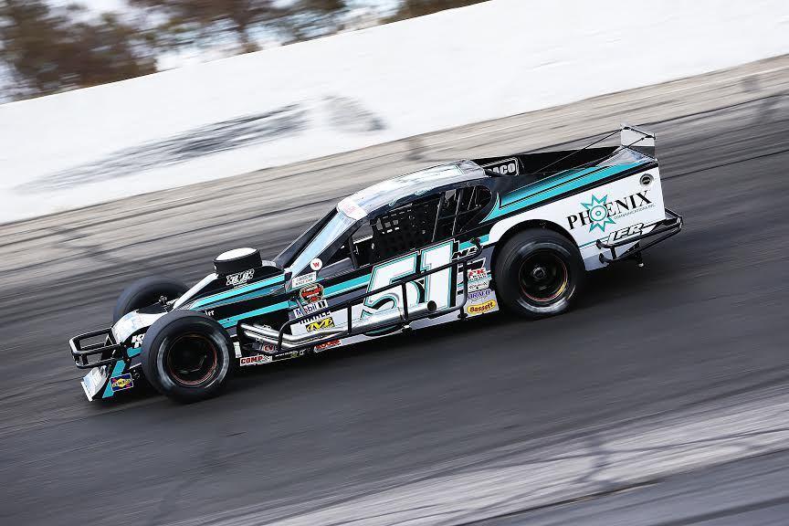 Justin Bonsignore's #51 Modified.  (NASCAR Photo)