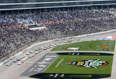 The Cup race at Texas.  (NASCAR Photo)
