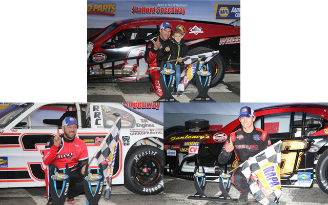 The Sunday winners of the 2018 Spring Sizzler at Stafford  (SMS Photo)
