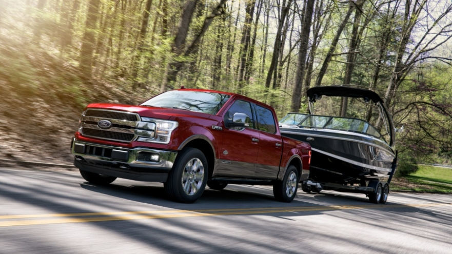 The new Ford F-150 Powerstroke  (FoMoCo Photo)