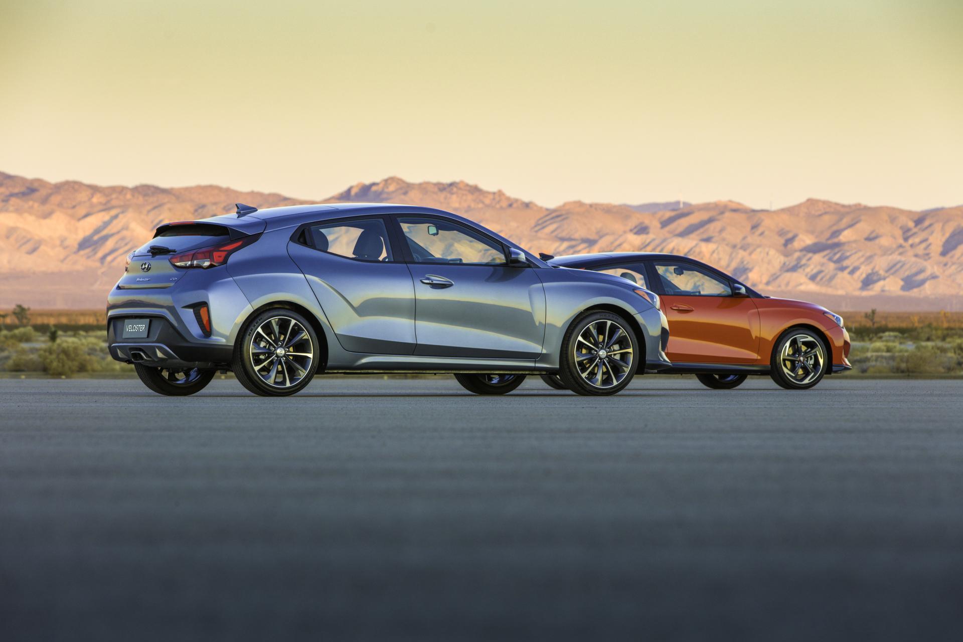 The 2019 lineup of Hyundai Velosters (Hyundai Photo)