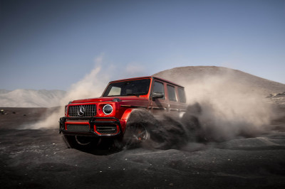 The Mercedes-AMG G 63.  (MB USA Photo)