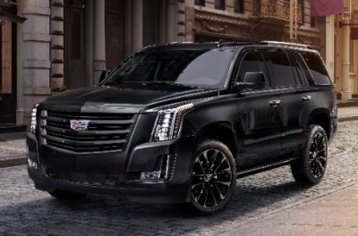The Cadillac Escalade Sport.  (GM Photo)