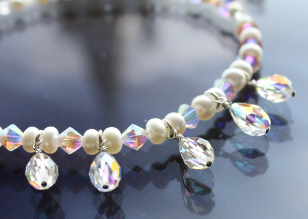 Swarovski Crystal Bridal Necklace
