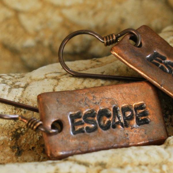 Copper Escape Earrings