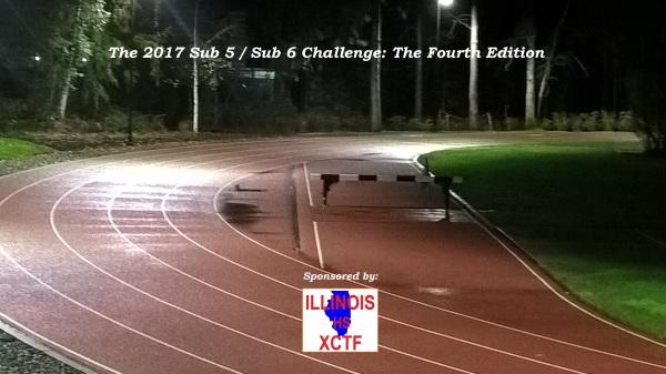 2017 Sub-5 / Sub-6 Challenge Final Lists