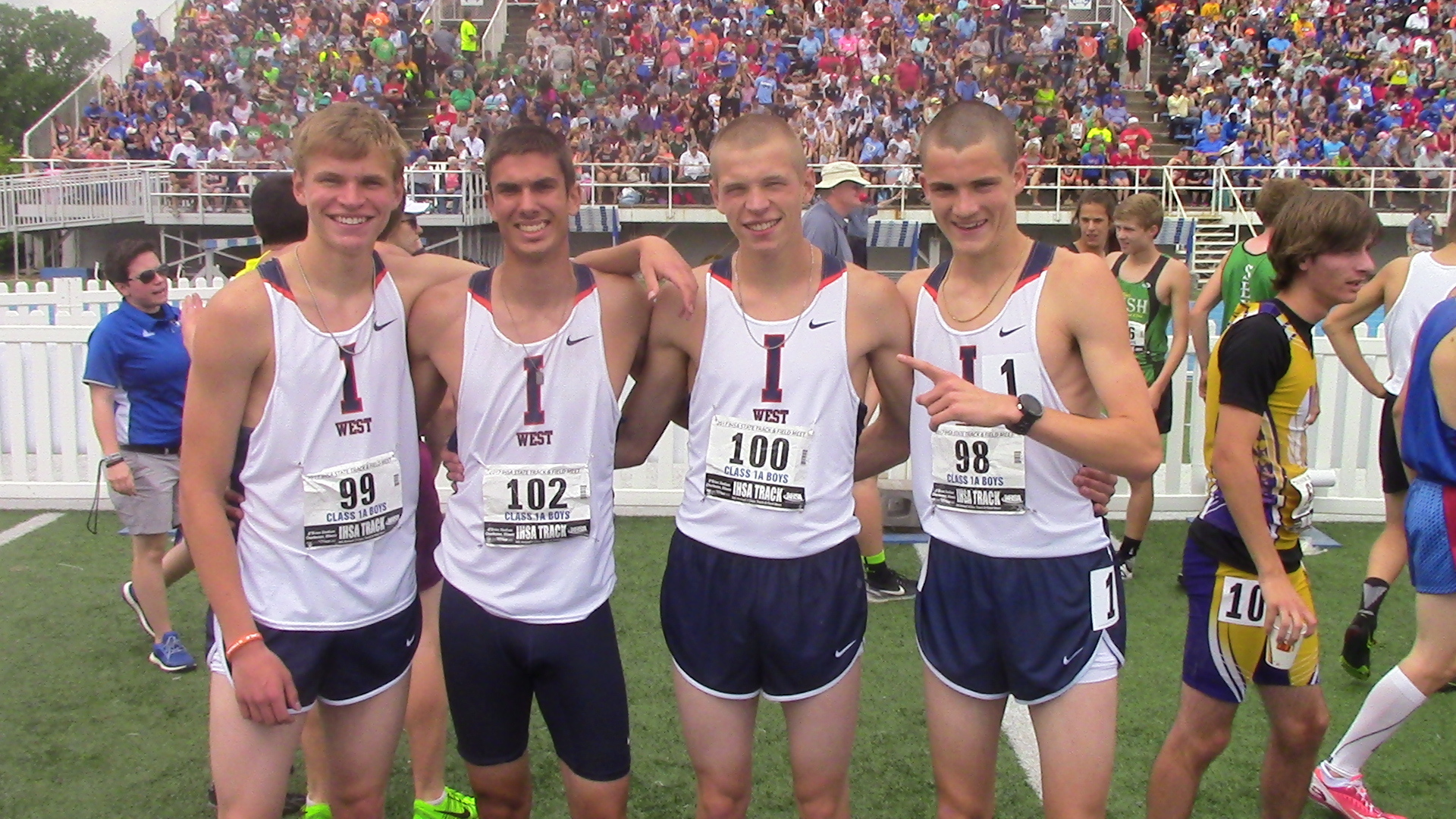 IHSA Boys State Championships - Illini West rolls to 1A team title
