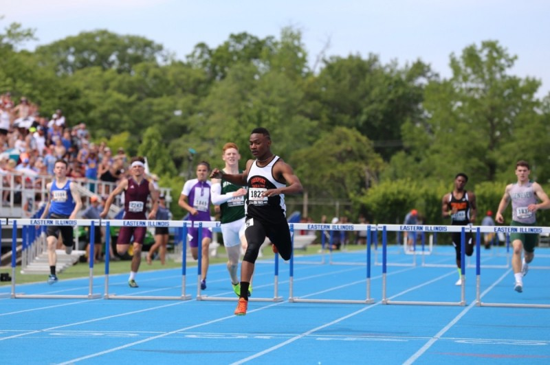 IHSA Boys State Championships - McShane sets new IHSA record