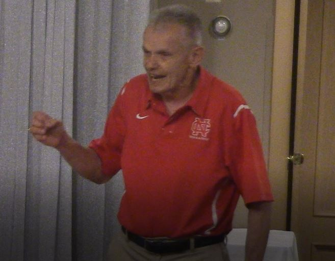 Al Carius speaks at the ITCCCA North Coaches Meeting