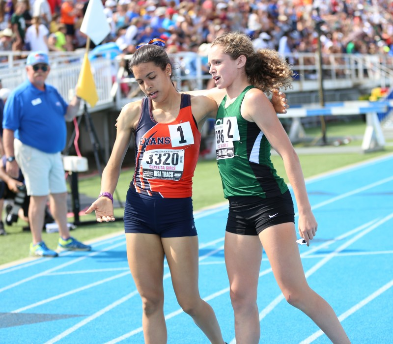 IHSA Girls State Track and Field Championships Highlights