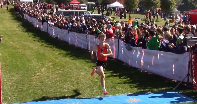 Methner breaks course record in Palatine Invitational win