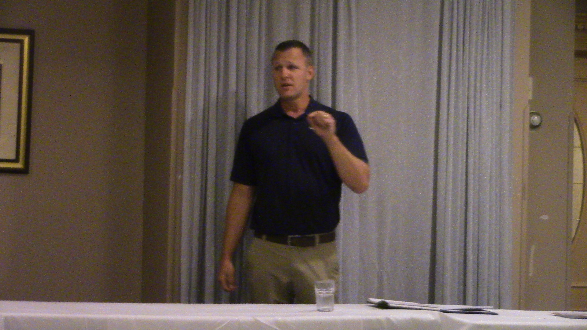 IHSA's Kraig Garber addresses the ITCCCA Fall Meeting - 9/26/18