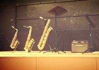 Three Saxophones