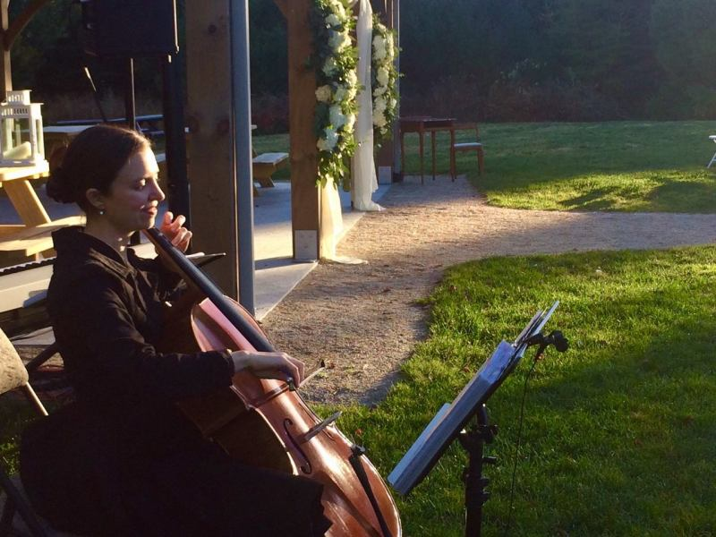 wedding music Nova Scotia outdoor