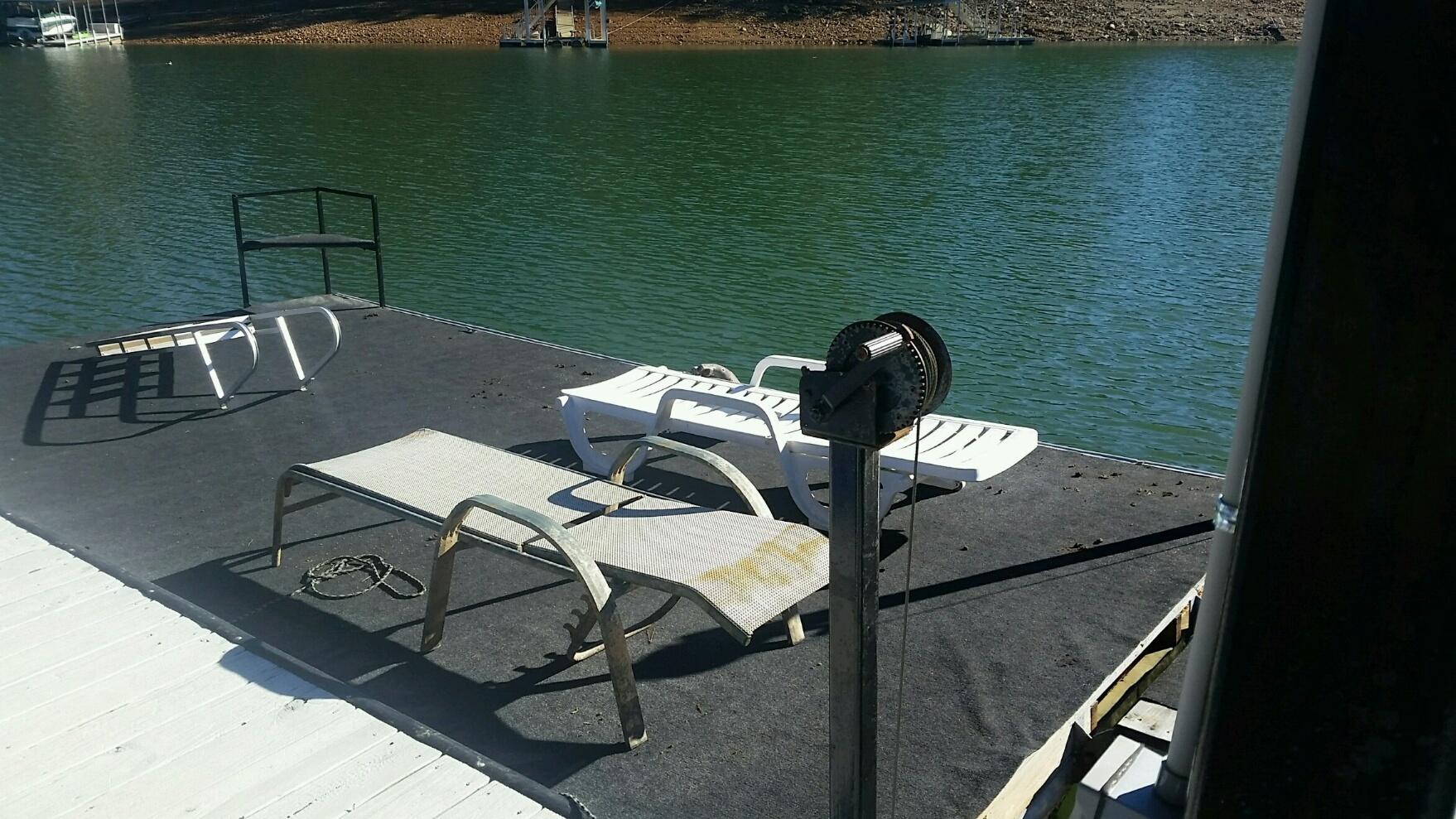 Swim Dock with gangway