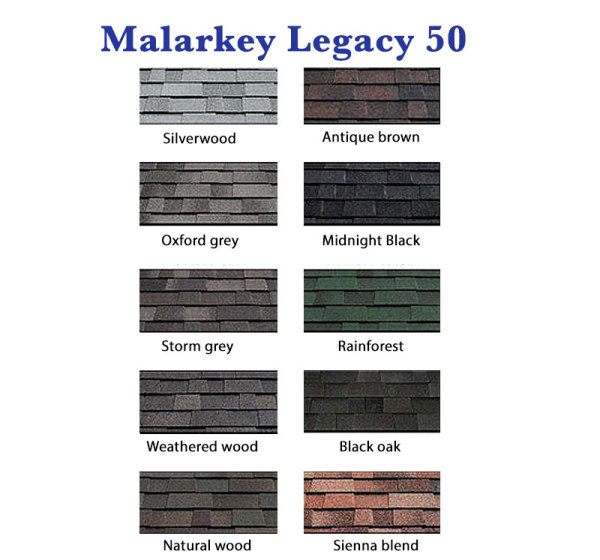 Malarkey Legacy 50 year Shingle