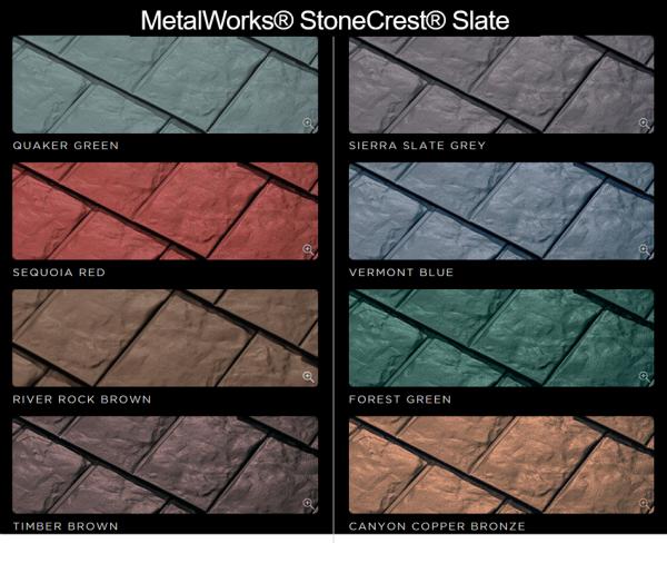 MetalWorks® StoneCrest® Slate