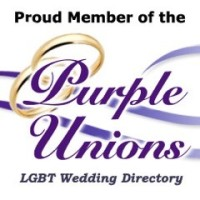 Purple Unions LGBT Weddings