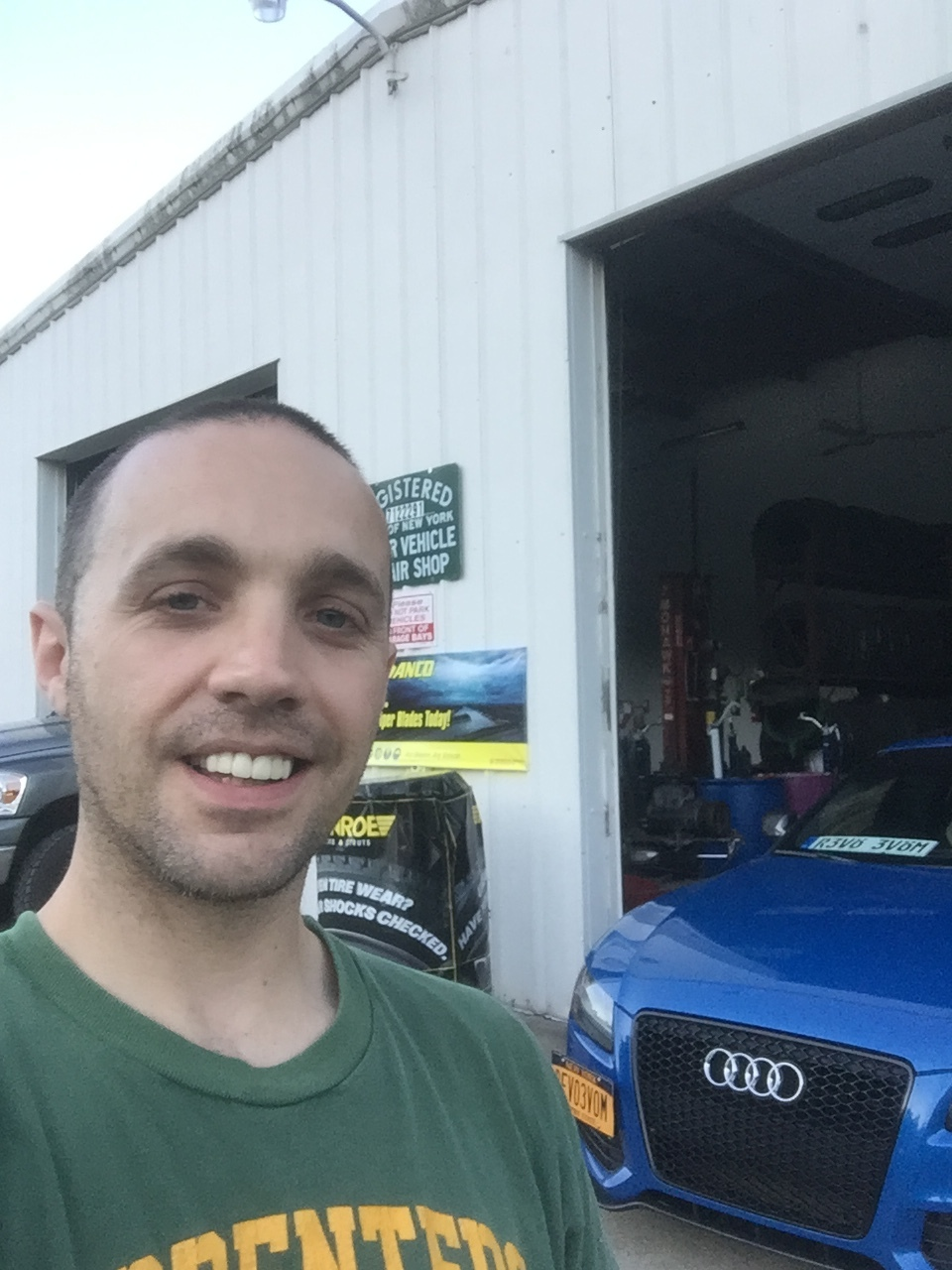 A picture of James Goodall a Co-Owner of JR Automotive Tech.