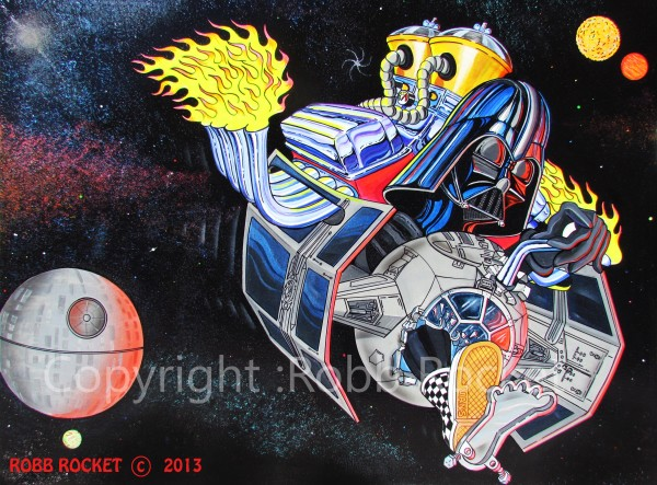 Vader Rides Again