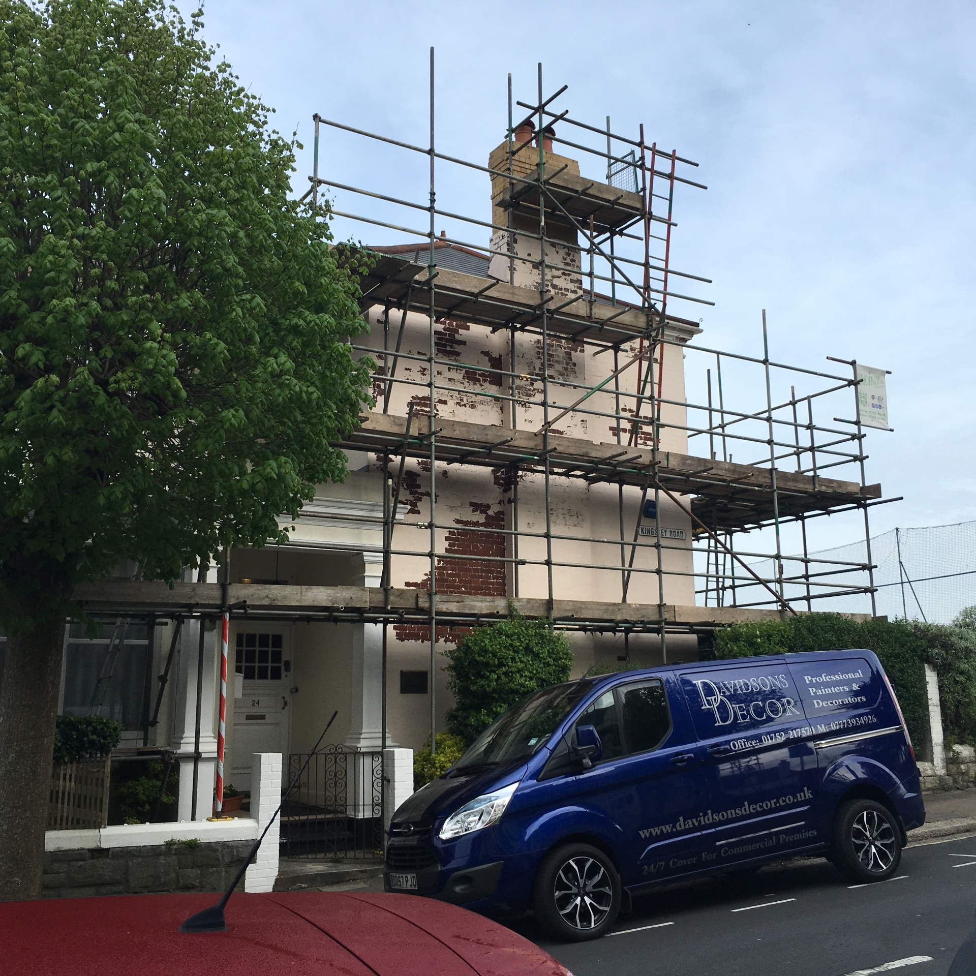 exterior painters plymouth