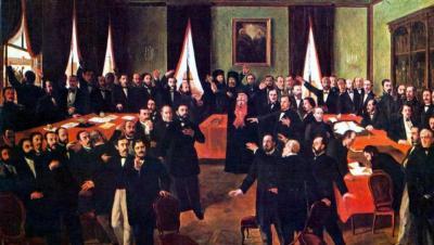 Discursul lui Mihail Kogalniceanu la alegerea lui Alexandru Ioan Cuza ca domn al Moldovei
