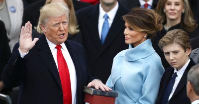Donald Trump a jurat pe Biblie la investitura: 20 ianuarie 2017 va ramane ca ziua cand...