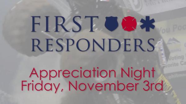 First Responders Appreciation Night