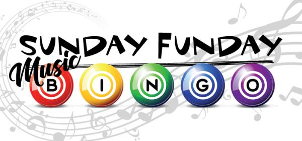 Sunday Funday Music Bingo - Now Every Sunday!