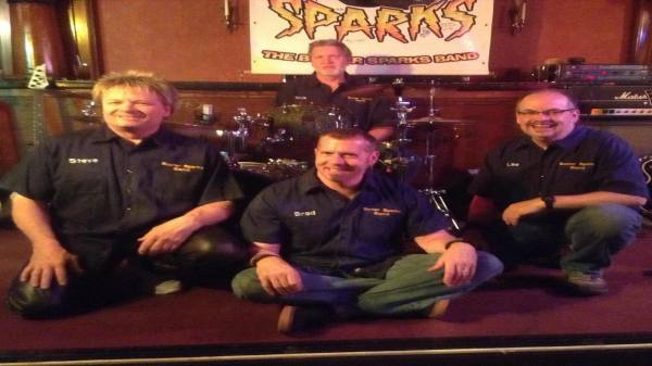 The Buster Sparks Band Live! April 20 - 21st