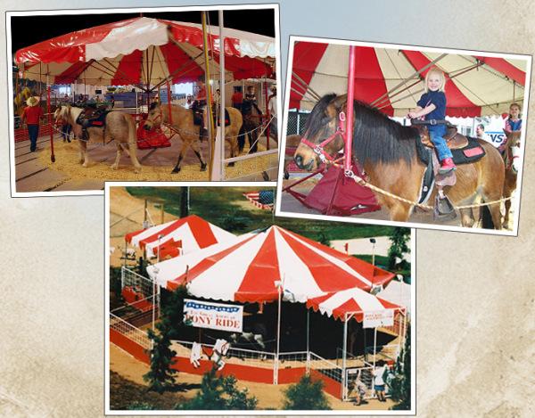 Petting Zoo & Pony Rides Lunes - Viernes 1:00pm - 9:00pm Sabado y Domingo 11:00am - 9:00pm