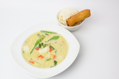 Green Coconut Curry (Lunch Special)