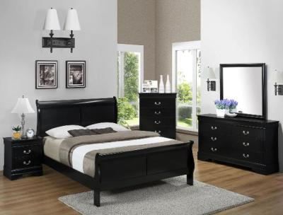 4 Pc Crown Mark Bed Set
