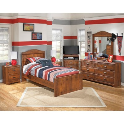 4 Pc Twin Bedroom Set
