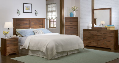 5 Pc Queen Bed Set